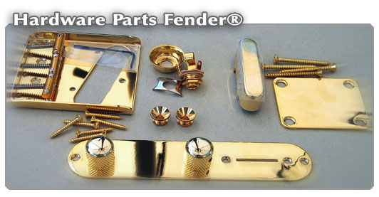 Accastillage & hardware guitares Fender®