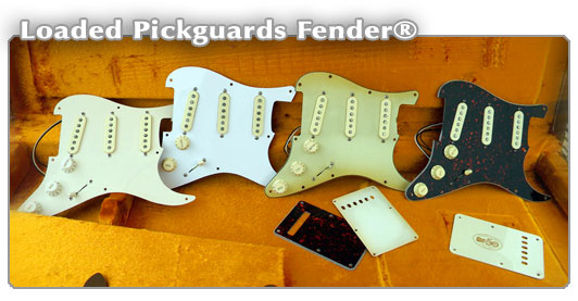 Loaded Pickguards Strat Fender